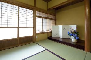 和室の漆喰リフォーム