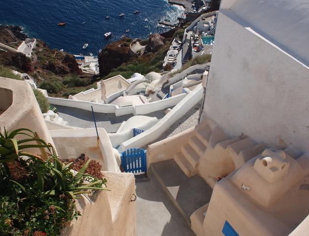 サントリーニ島の漆喰6