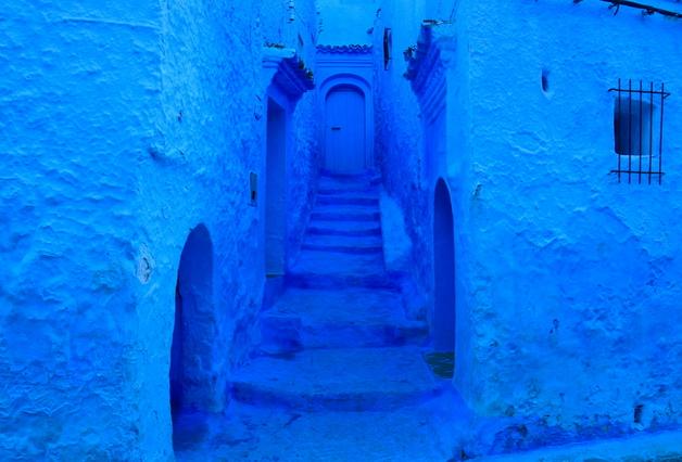 青漆喰のシャウエン2