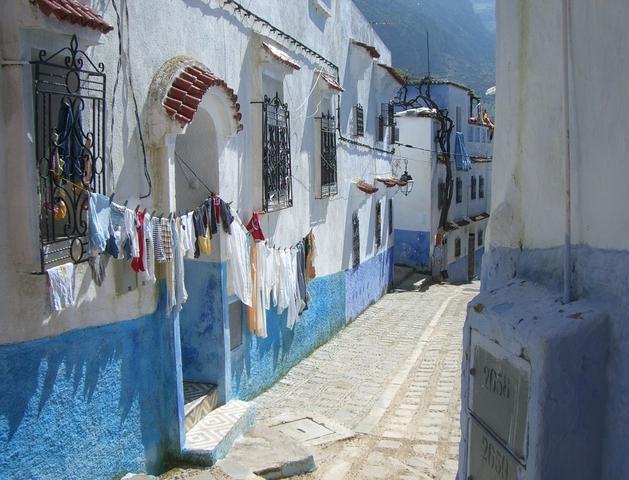 青漆喰のシャウエン5