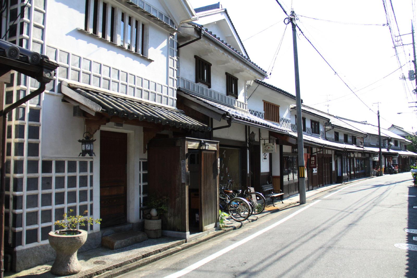倉敷と漆喰4