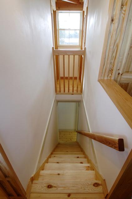 漆喰階段リフォーム