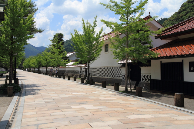 漆喰と津和野3