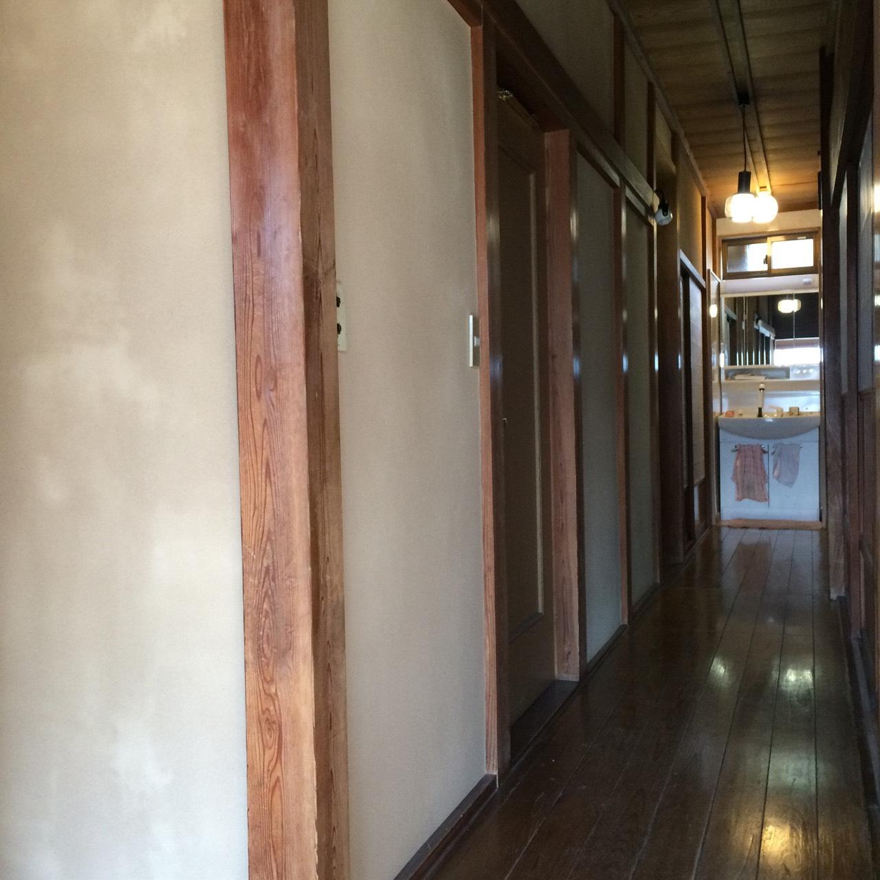 古民家漆喰塗り壁リフォーム7