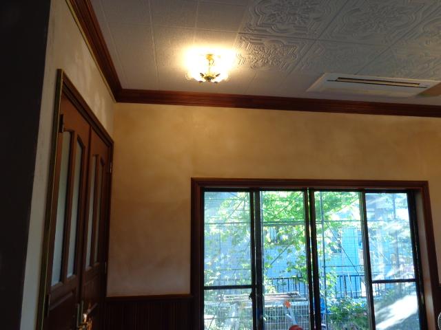 自然素材漆喰壁リフォーム千葉東京左官6